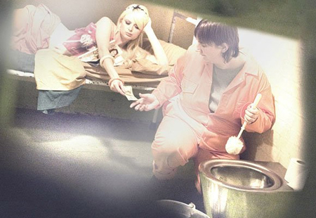 Paris Hilton na prisão